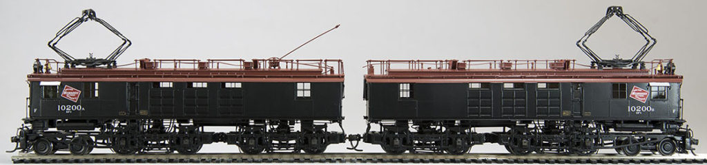 Milwaukee Box Cab Model Train