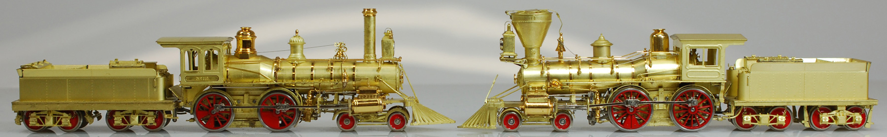 Brass Train Models