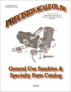 General Use Model Train Parts Catalog