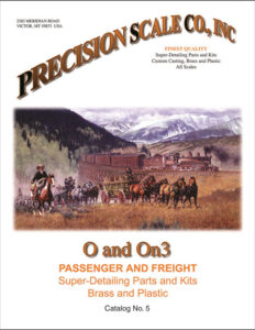 O and On3 Passenger and Freight Catalog