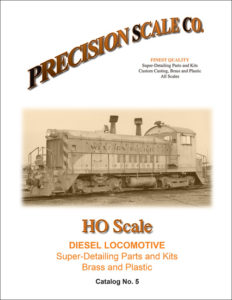 HO and HOn3 Diesel locomotive Catalog