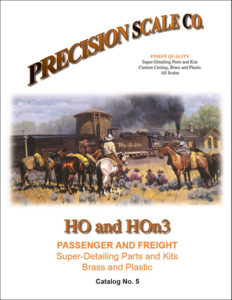 HO and HOn3 Passenger and Freight Parts and Kits Catalog