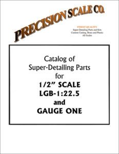 Large Scale Train Parts Catalog